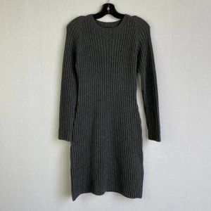 JACOB Wool-blended Knit Sweater Dress